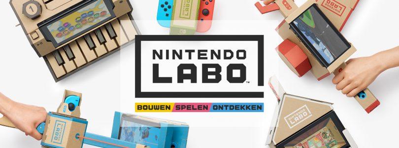 Video toont nieuwe functies Nintendo Labo voor Nintendo Switch
