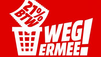 MediaMarkt BTW Weg Ermee-actie keert terug en start op donderdag 23 januari 2020