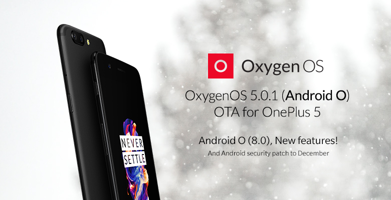 Oxygen OS 5.0.1 voor OnePlus 5