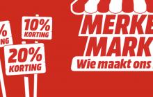 MediaMarkt MerkenMark: korting op Samsung tablets, televisies en witgoed