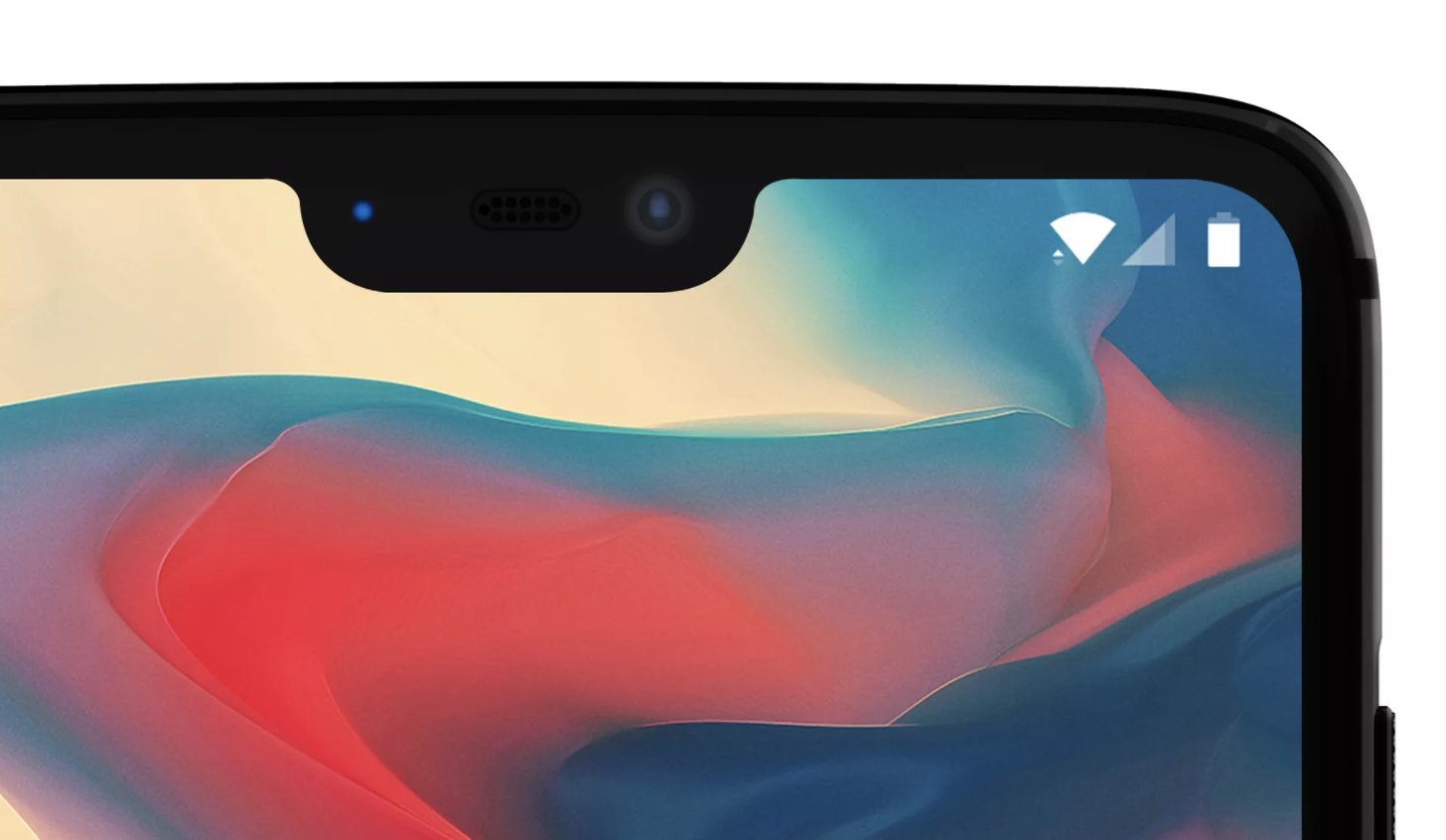 OnePlus 6-notch