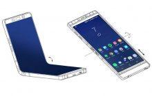 Vouwbare Samsung-smartphone