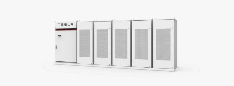 'Tesla werkt aan nieuwe energiemodule genaamd Megapack'
