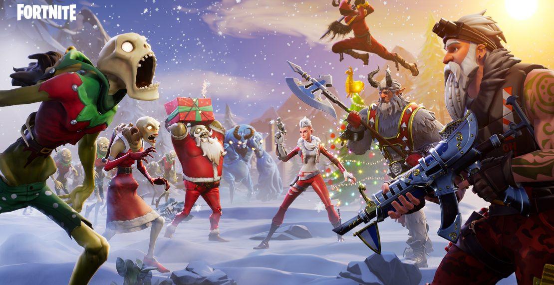 14 Days of Fortnite start woensdag, 19 december.