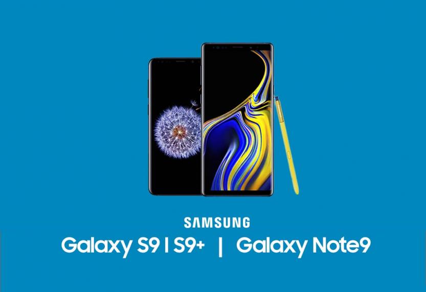 Samsung Galaxy S9 en Note 9 voor de laagste prijzen tot nu toe