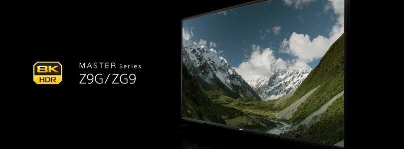 Sony kondigt 2019 4k en 8k oled- en lcd-televisies aan: ZG9, AG9, AG8, XG950