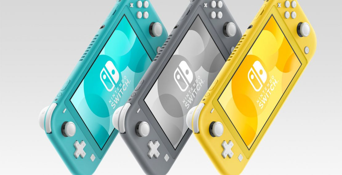 Cyber Deal bij Amazon Nederland: Nintendo Switch Lite in grijs voor 195 euro