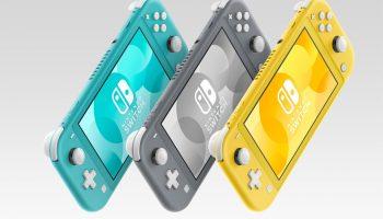 Cyber Deal bij Amazon: Nintendo Switch Lite voor 179 euro