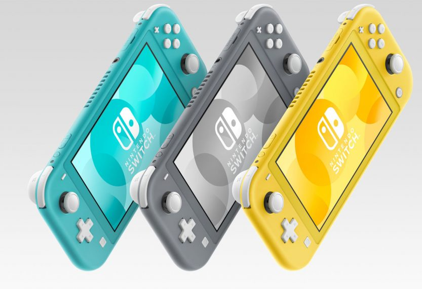 Cyber Monday bij Amazon: Nintendo Switch Lite in alle kleuren voor 195 euro