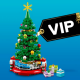 Black Friday: LEGO VIP-weekend start op 23 november met dubbele VIP-punten, kerstboom en bouwbare steen