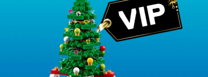 Black Friday: LEGO VIP-weekend start op 23 november met dubbele VIP-punten, kerstboom en bouwbare steen