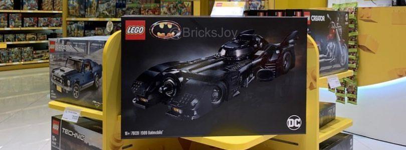 LEGO 76139 Batman 1989 Batmobile kopen? Vanaf Black Friday 2019 beschikbaar
