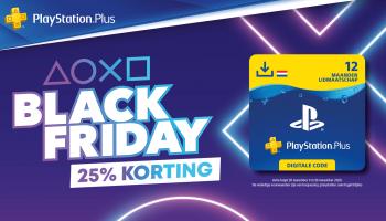 Black Friday: 12 maanden PlayStation Plus en Now voor €44,99