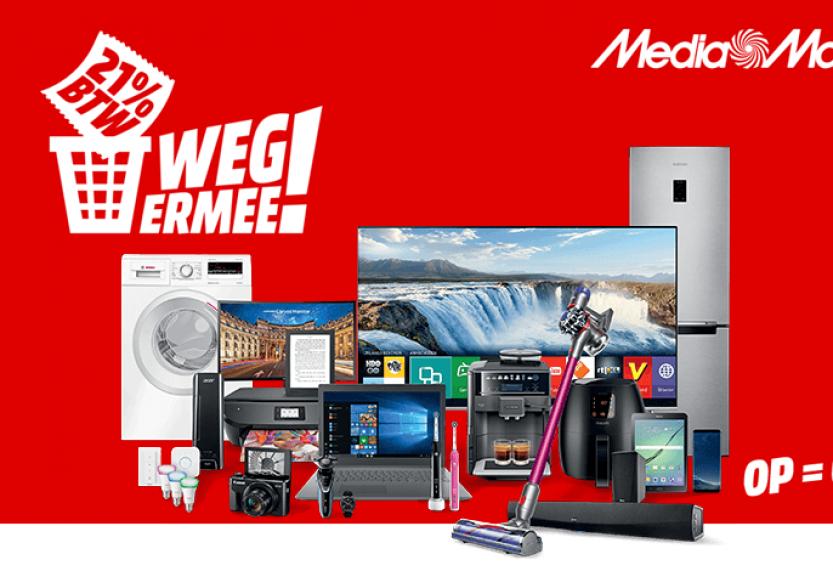 Startdatum MediaMarkt BTW Weg Ermee-actie 2020 gelekt: donderdag 23 januari