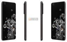 Renders onthullen ontwerp Samsung Galaxy S20 Ultra 5G met Space Zoom-camera