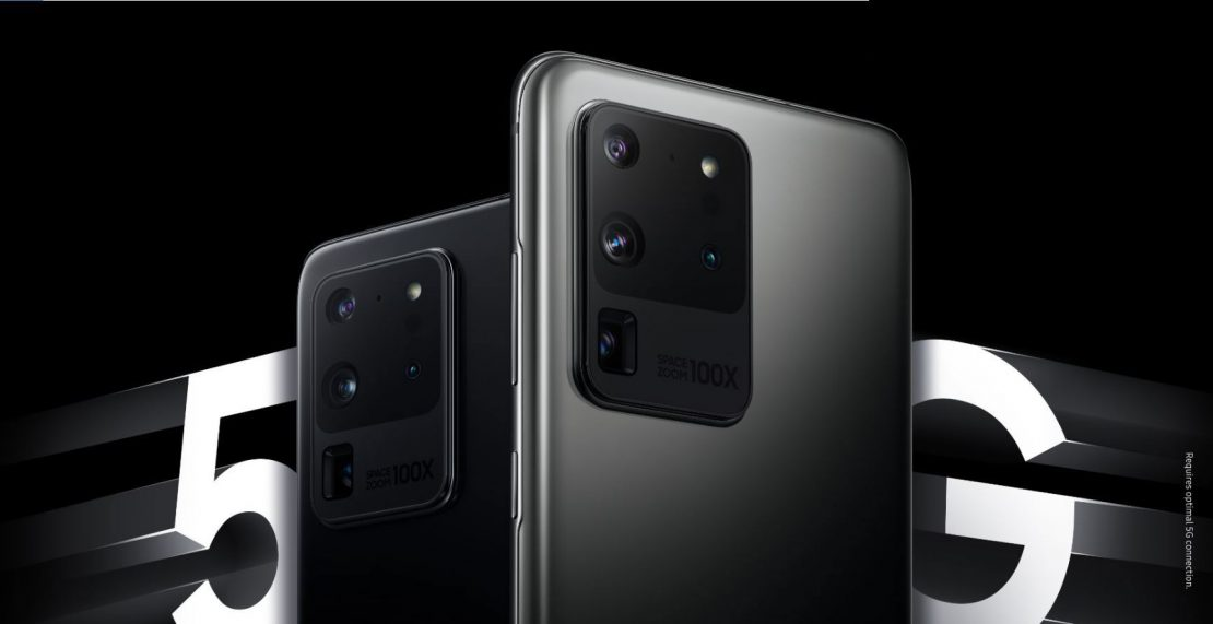 Ontvang 100 euro cashback op Samsung Galaxy S20, S20+, S20 FE en S20 Ultra