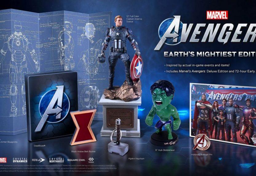 Marvel's Avengers Collector's Edition nu te bestellen als pre-order in Nederland
