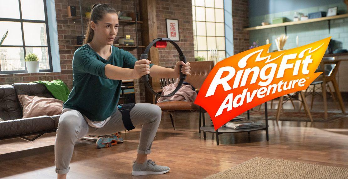 Ring Fit Adventure voor Nintendo Switch is weer beschikbaar in Nederland