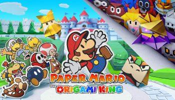 Nieuwe gameplaybeelden Paper Mario: The Origami King getoond