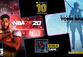 PlayStation Plus in juli 2020: NBA 2K20, Rise of the Tomb Raider: 20 Year Celebration en Erica