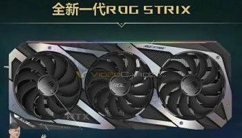 Eerste foto van ASUS GeForce RTX 3080 Ti ROG STRIX verschenen, toch geen RTX 3090?