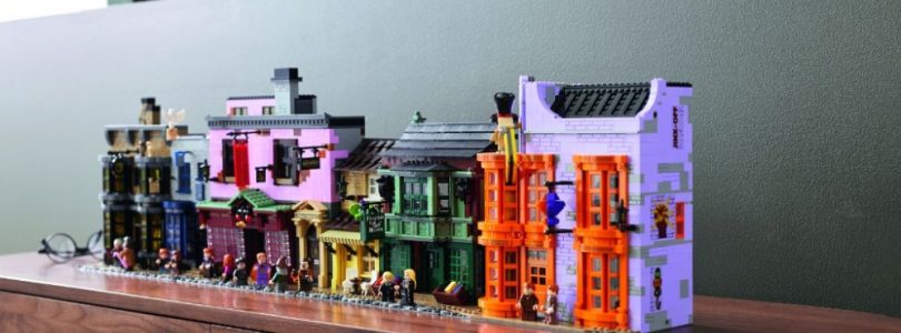 LEGO Harry Potter 75978 Diagon Alley vanaf 1 september te koop in LEGO Shop