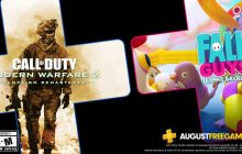 PlayStation Plus-games augustus nu beschikbaar: Fall Guys en Call of Duty: Modern Warfare 2 Remastered