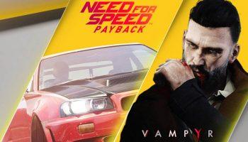 PlayStation Plus in oktober: Vampyr en Need for Speed: Payback nu beschikbaar