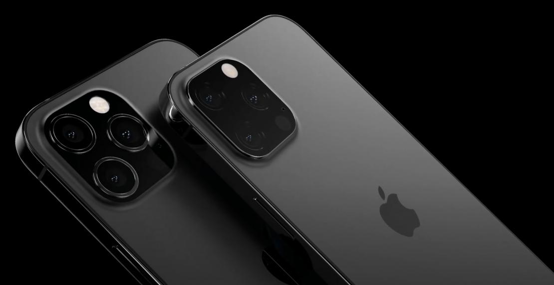 'iPhone 13 Pro (Max) zal in mat zwart worden aangeboden'