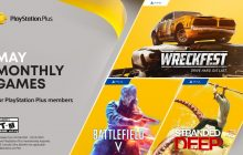 Wreckfest, Battlefield V en Stranded Deep zijn de PlayStation Plus-games in mei