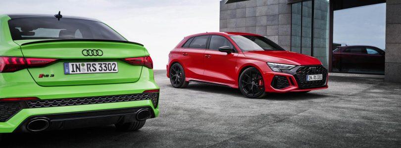 Audi RS3 Sportback en Limousine vanaf begin augustus te koop