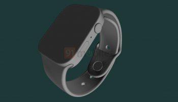 Renders Apple Watch Series 7 tonen nieuw ontwerp
