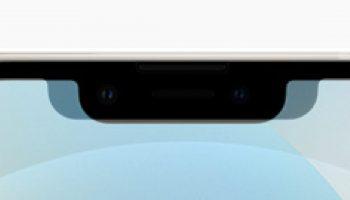TrueDepth-camerasysteem van iPhone 13 (Pro) is smaller en een fractie hoger