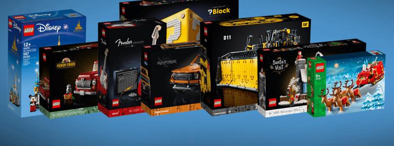 Deze LEGO-sets zijn vanaf 1 oktober beschikbaar:  Super Mario 64-vraagtekenblok, Mini Disney Castle en meer